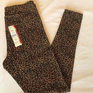 High rise leopard leggings